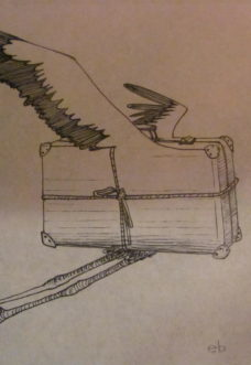valigia viaggiatrice  elena borghi