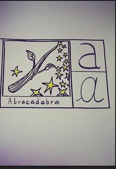 abracadabra abecedario straparlato