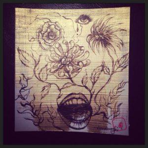 """Rinascita"" live painting"