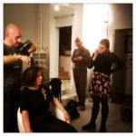 """Facce da blogger"" - backstage with Chiara, Piero Marsiglio e the blogger of chezuppa!"