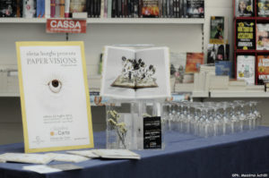 """""""Paper Visions"""" book signing"""