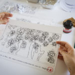 #BloomingFlowers papercraft for presentation of new jewelry collection by CO|TE for Stroili - sketches