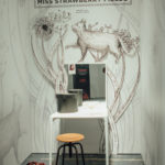 Miss Strawberry Fields's world by elena borghi