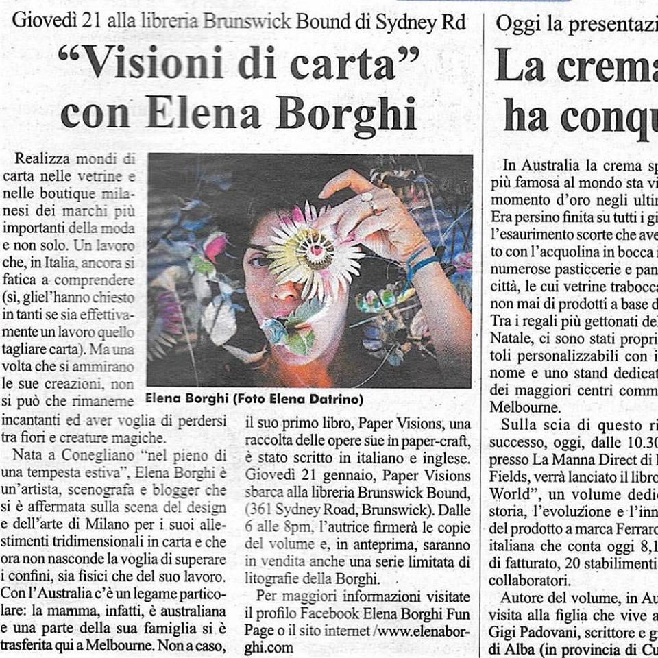 elena-borghi-il-globo-melbourne-paper-visions