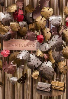 """""""Zanellato's winter garden"""" via Bagutta 11, Milano"""