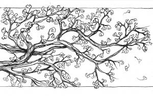 """My secret place"" sketch"