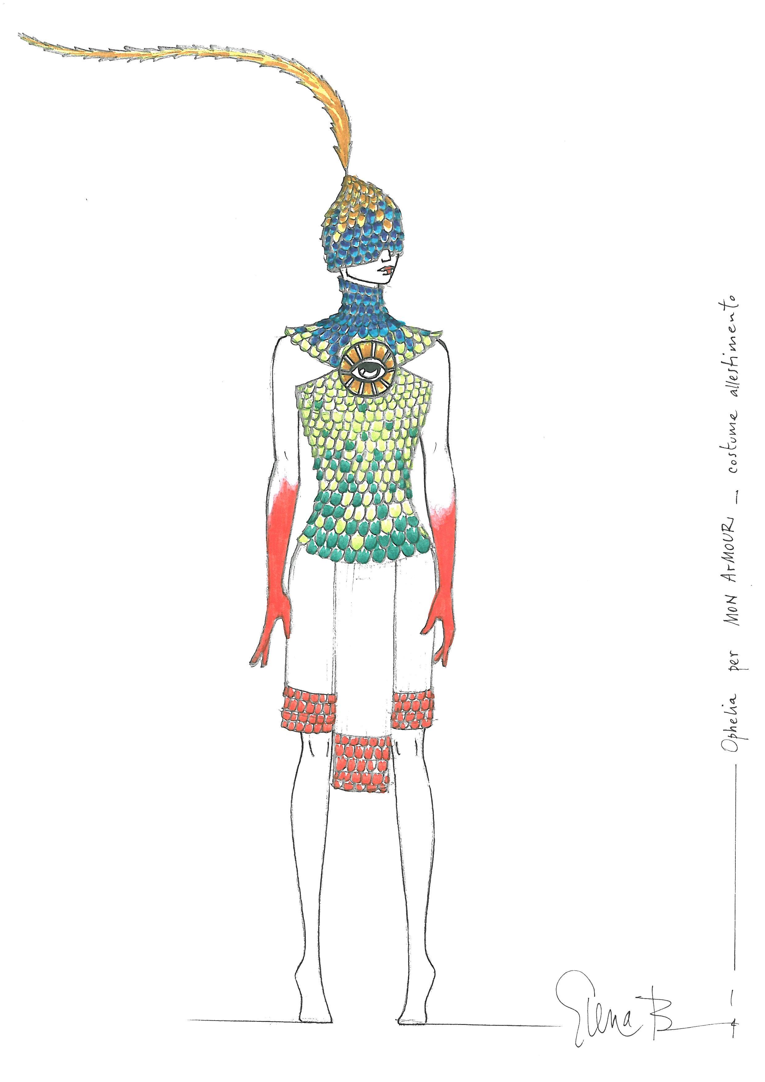 MON ArMOUR_costume Ophelia