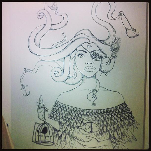 Octopussy-Navigated Lady forZalando